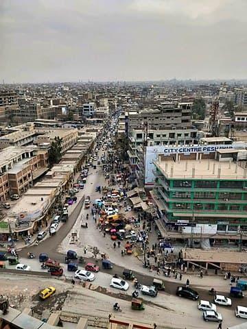 Peshawar by Mohammed Ahmed Arsalan Khan [CC BY-SA (https://creativecommons.org/licenses/by-sa/4.0)]