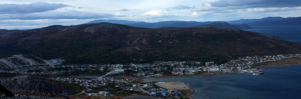 Nain, the northernmost port in Labrador by https://commons.wikimedia.org/wiki/User:Chaughten