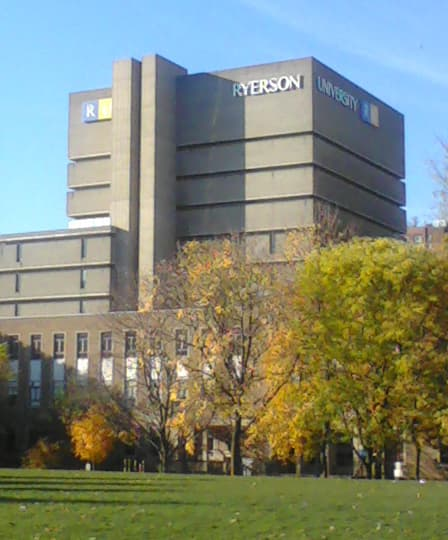 The Ryerson University Library in Toronto, Ontario. This file is licensed under the Creative Commons Attribution-Share Alike 3.0 Unported license.