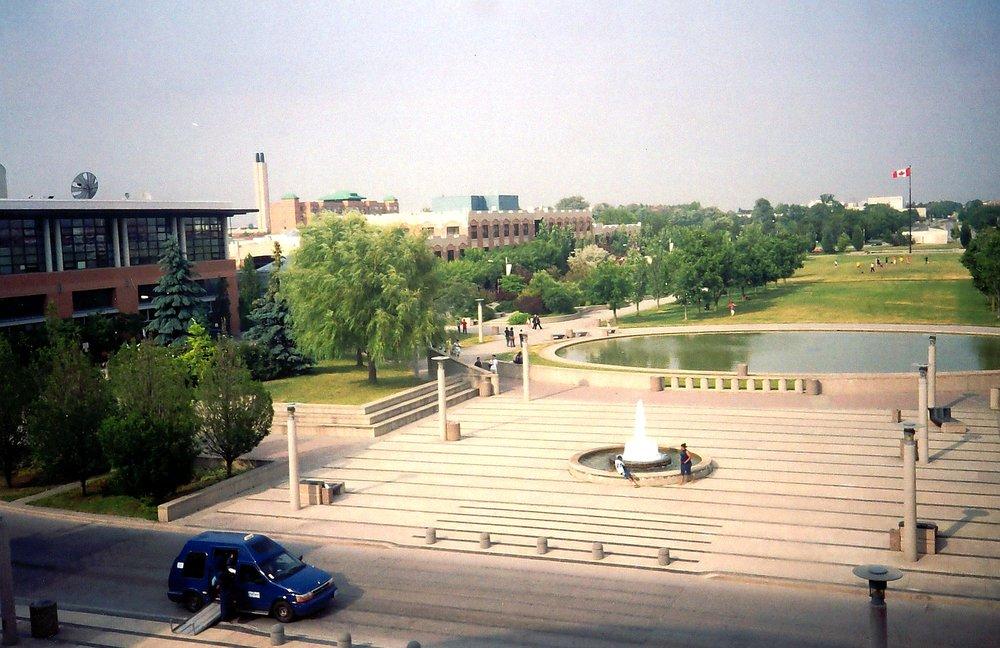 York University by Blagov at English Wikipedia [Public domain]