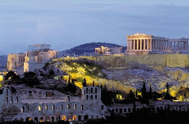 Acropolis via https://pixabay.com/en/acropolis-parthenon-athens-greece-12044/