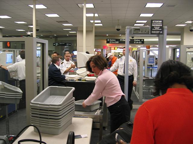Airport Security via https://www.flickr.com/photos/redjar/113959474/