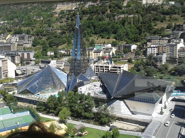 Andorra via https://pixabay.com/en/andorra-chaldean-building-729795/