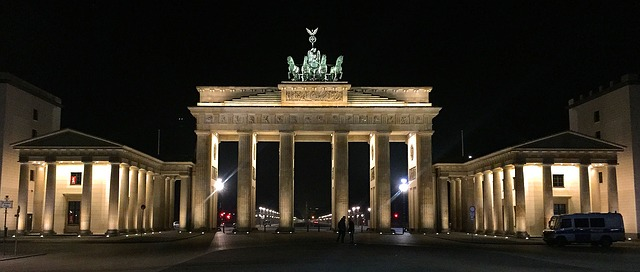 Berlin via https://pixabay.com/en/berlin-brandenburg-gate-goal-989111/