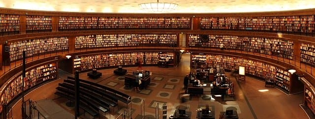 Library via https://pixabay.com/photos/books-students-library-university-1281581/