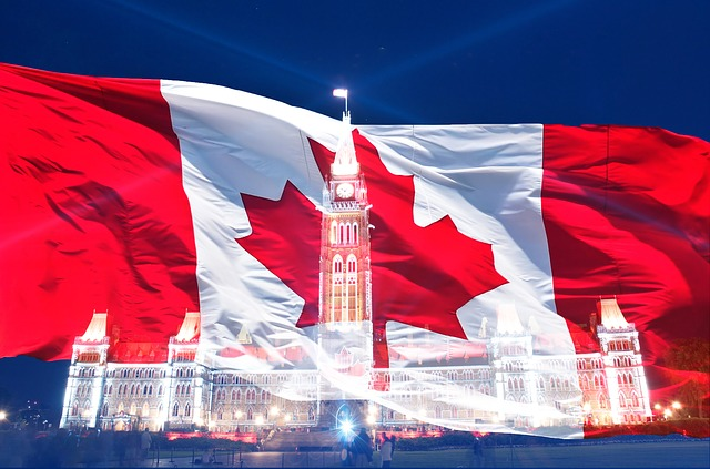 Canadian Flag https://pixabay.com/en/canada-day-flag-canadian-symbol-614290/