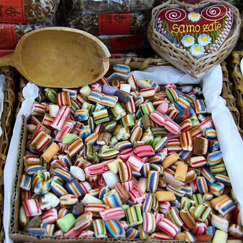 Candies via https://pixabay.com/en/sweets-goodies-candies-sugar-14183/