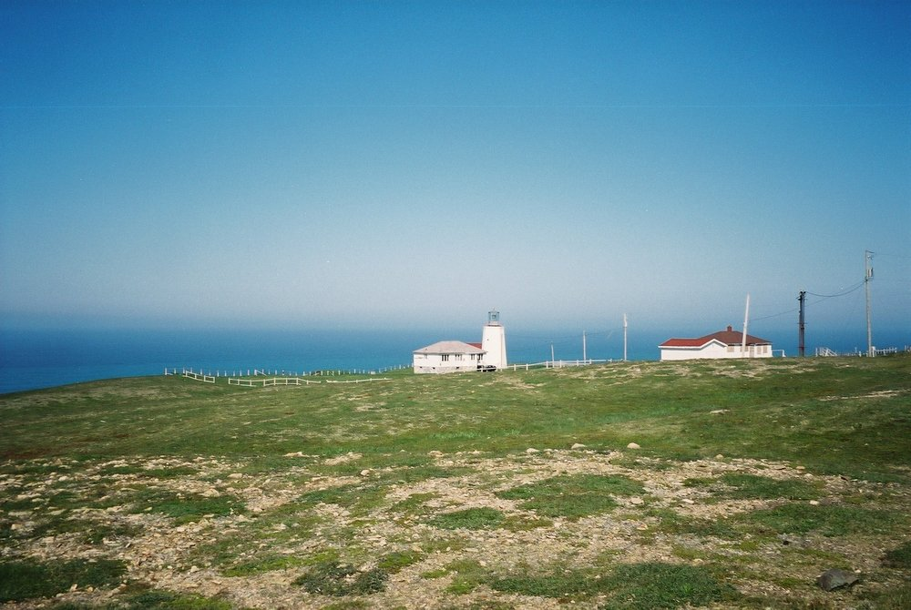 Lighthouse at Cape St. Mary's by Riley Haas
