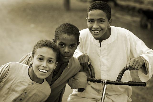 Children via https://pixabay.com/en/children-happy-happy-children-887393/