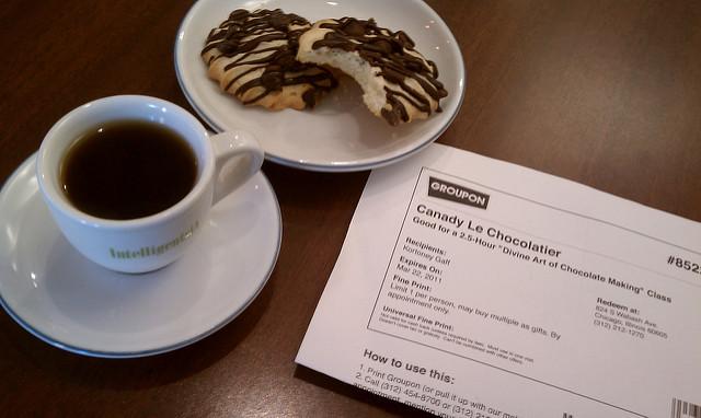 Chocolatier Groupon Class via https://www.flickr.com/photos/groupon/5574476406/