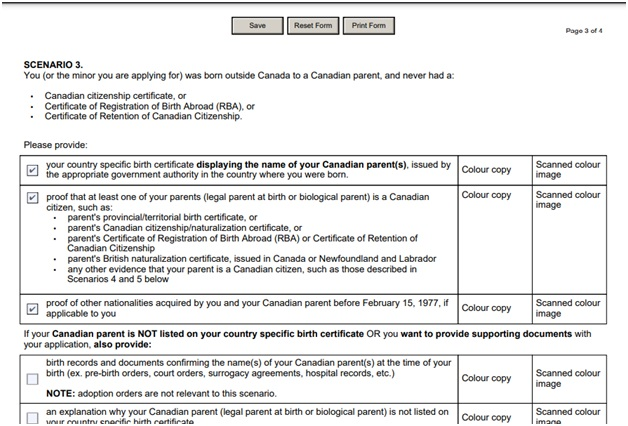CIT 0014 Document Checklist Page 3 Top