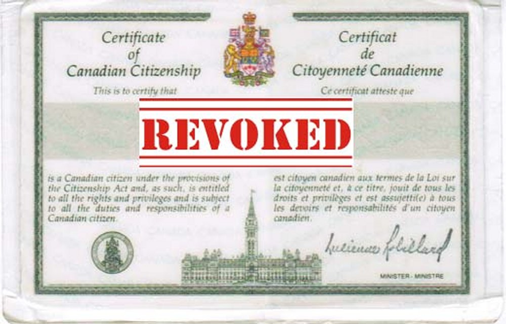 If You Are Naturalized Citizen Can Us Citizenship Be Rovoked