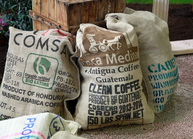 Coffee via https://pixabay.com/en/coffee-coffee-bag-bags-659129/