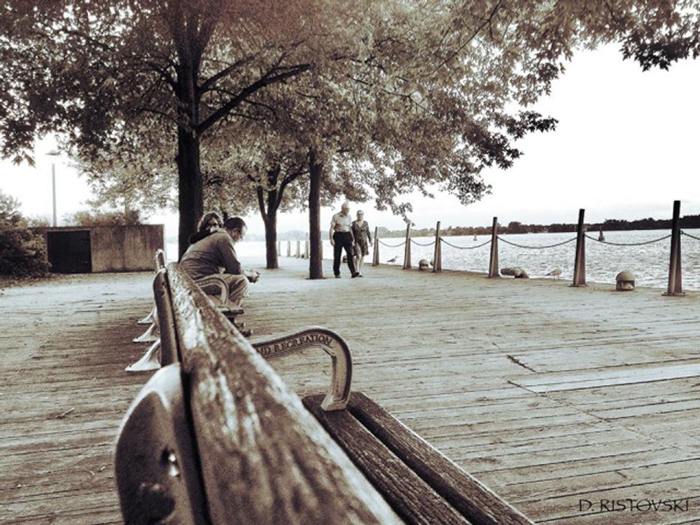Couples in Toronto by David Ristovski