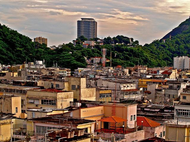 Favelas via https://pixabay.com/en/favelas-buildings-sheds-51318/
