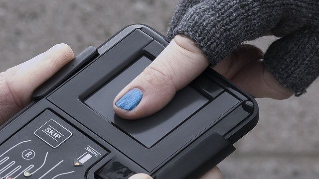 Fingerprint Scanner by NEC