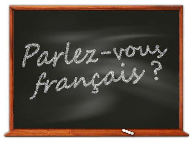 Parlez Vous Francais? https://pixabay.com/illustrations/board-school-blackboard-french-64271/