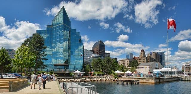 Halifax via https://pixabay.com/photos/halifax-nova-scotia-waterfront-2370263/
