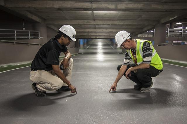 Inspecting work via https://pixabay.com/en/men-onsite-man-construction-worker-827301/