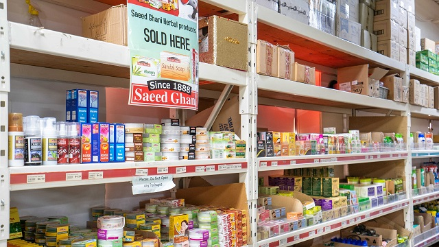Iqbal Foods shelves