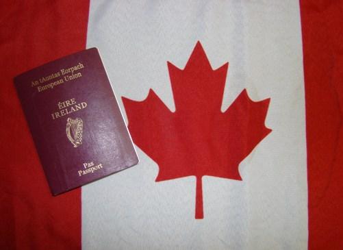 picture of irish passport