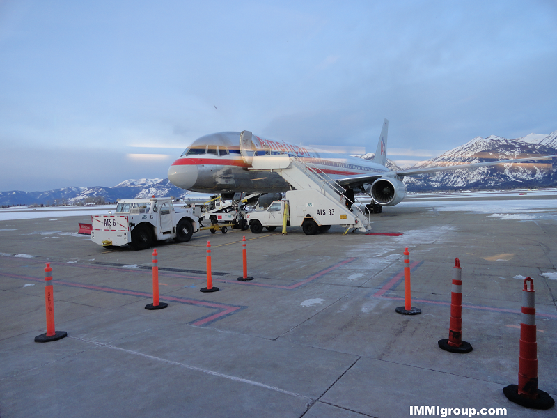 Jackson Airport, Wyoming