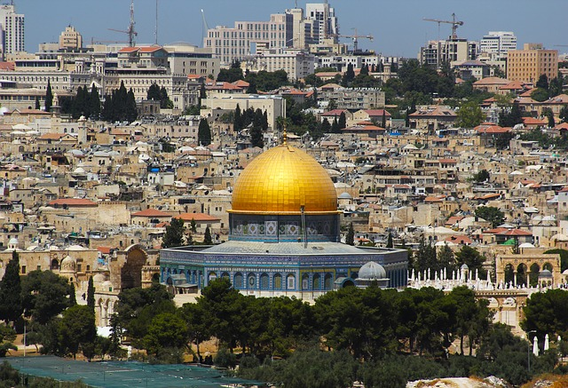 Jerusalem via https://pixabay.com/en/jerusalem-worship-history-holiday-597025/