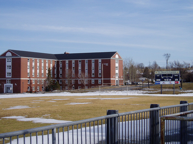 MacIsaac Hall at St. Francis Xavier University by RicLaf