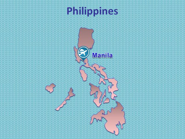 TWOV Participating Airports in the Philippines