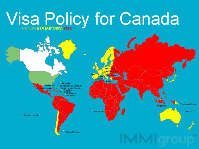 Canada's visa policy