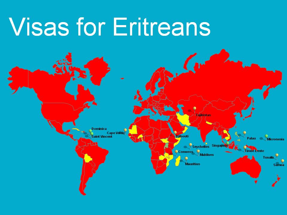 Visas for Eritreans