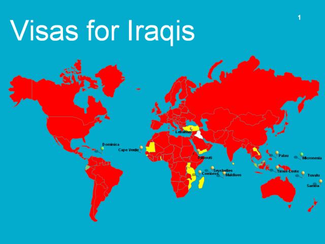 Visas for Iraqis