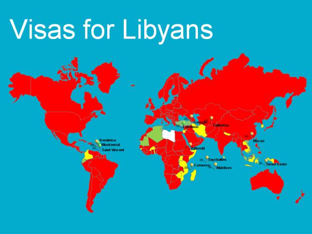 Visas for Libyans