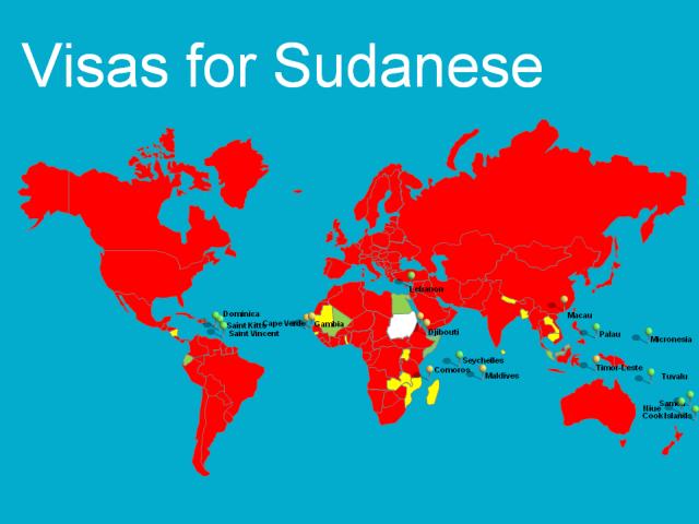 Visas for Sudanese