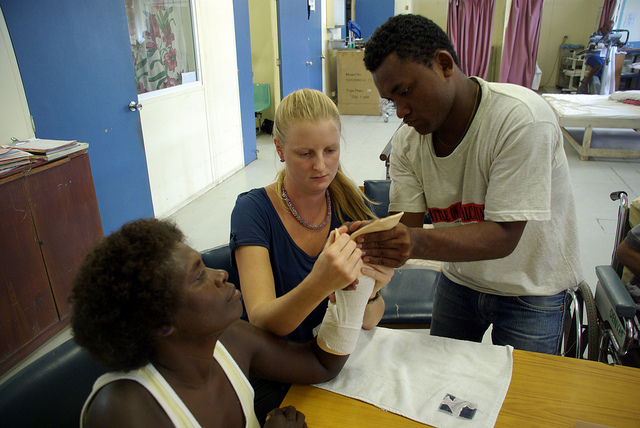 Occupational Therapists by Department of Foreign Affairs https://www.flickr.com/photos/dfataustralianaid/10711530113
