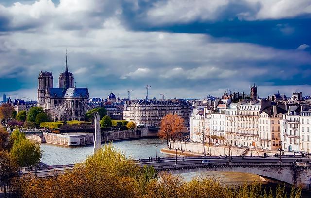 Paris via https://pixabay.com/en/paris-france-notre-dame-1900442/