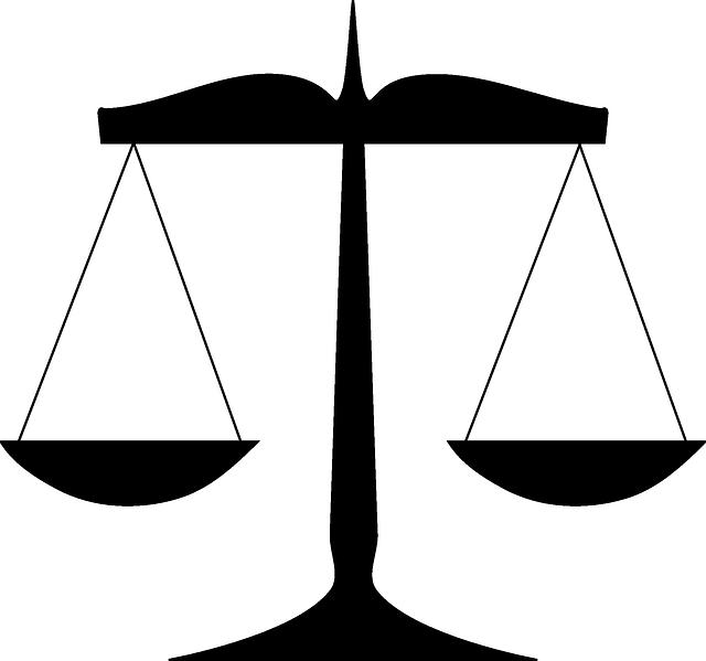 Scales via https://pixabay.com/en/scales-law-justice-balance-weight-303434/