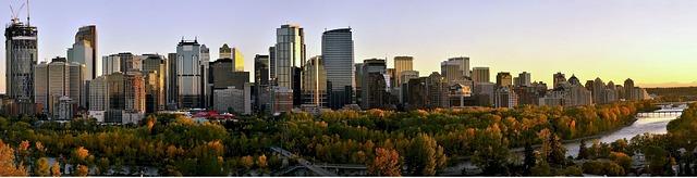 Calgary Skyline via https://www.immigroup.com/alberta-provincial-nominee-program-pnp