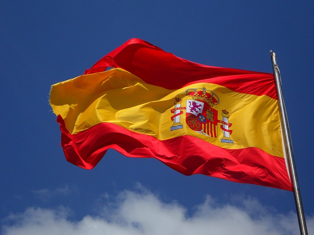 Spanish Flag by https://pixabay.com/en/users/Efraimstochter/
