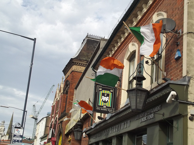 St. Patrick's Day at the Kerryman by Elliott Brown