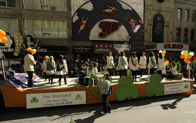 St. Patty's Day Parade by https://www.flickr.com/photos/jpmpinmontreal/