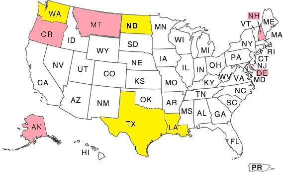 Sales Tax Rebate States