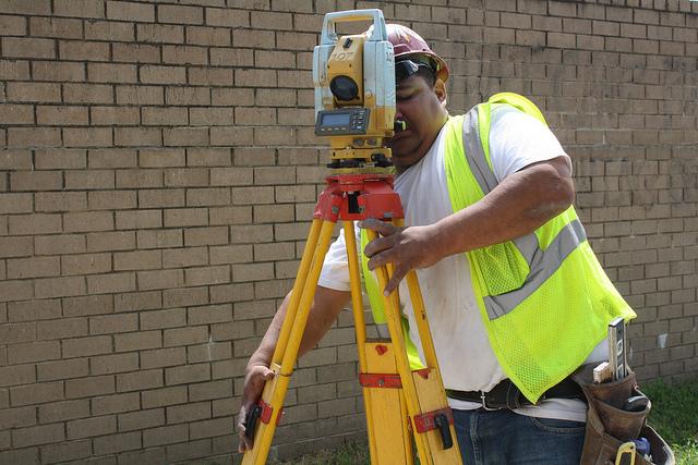 Land Surveyor by Elvert Barnes https://www.flickr.com/photos/perspective/6102715915/in/photolist-aih1PV-aigLj8-fLFXo-fLJdq-fLJ9R-fLFXa-fLFXr-fLFXg-fLJks-fLFWP-fLJgU-aSC7pT-aih1Qc-aih1Q8-aih1Q4-aijRnE-aih1Q6-avHrft-avL6ej-avHraX-avHrda-avHrdV-avL6aA-avHreZ-avL6cj-avL66Q-avL66b-avL6eS-avHrpF-avHrqk-avHroM-avHrk4-avHrnv-avHrmn-avL6dG-avHrcF-avL67U-avL68E-avHrkF-avHrqV-avL6hY-avHrjn-avL6db-aY5Nsz-aSBWyZ-aS7mTF-aSC4VV-aSBUo2-aS7eva-aS7bQR