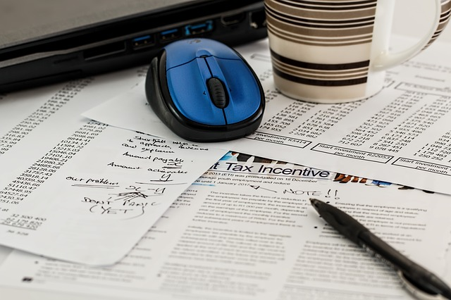 Taxes via https://pixabay.com/en/tax-forms-income-business-468440/