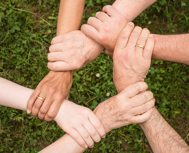 Team Spirit via https://pixabay.com/en/team-spirit-cohesion-together-2447163/
