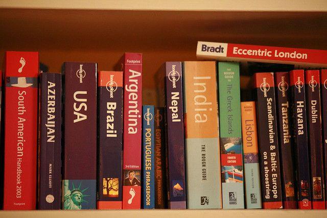 Travel Books by https://www.flickr.com/photos/brunogirin/