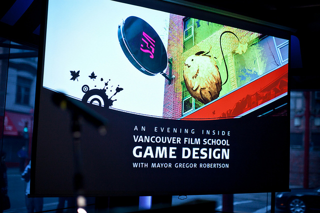 VFS Celebrates New Game Design Campus by https://www.flickr.com/photos/vancouverfilmschool/