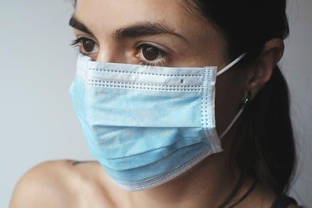 Mask via https://pixabay.com/photos/virus-protection-coronavirus-woman-4898571/