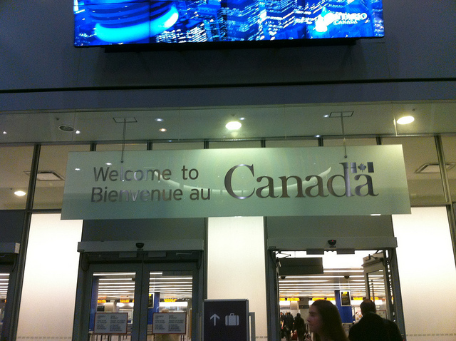 Welcome to Canada https://www.flickr.com/photos/cohencanada/6060743995