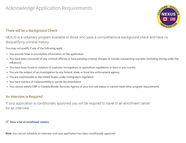 Background Check Acknowledgement